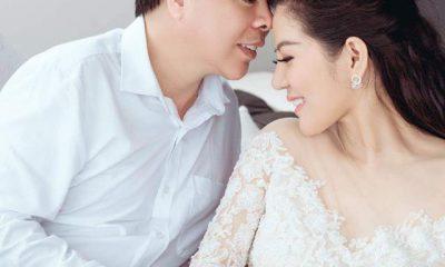 Ảnh cưới được nữ ca sĩ chia sẻ trên trang cá nhân, nhận được nhiều lời chúc phúc của bạn bè, người hâm mộ.