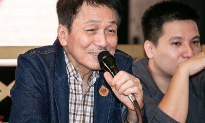 """Nhạc sĩ Phú Quang trong buổi họp báo giới thiệu liveshow """"Trong miền ký ức""""."""