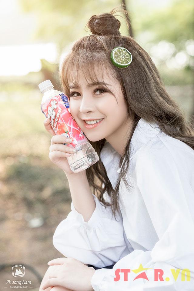 Trần Thị Thảo Trang với nụ cười tỏa nắng hút hồn người xem