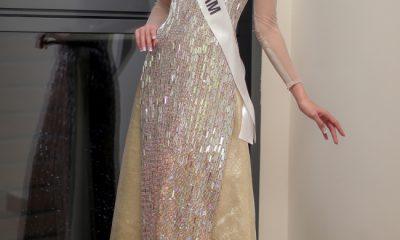 Minh Tú tại Hoa hậu Siêu quốc gia 2018.