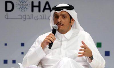 Ngoại trưởng Qatar Sheikh Mohammed bin Abdulrahman Al Thani. Ảnh: Getty.