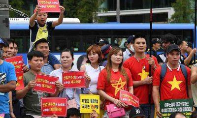 Người lao động nhập cư tại Hàn Quốc. (Ảnh không liên quan đến nội dung bài viết. Ảnh: Ryu Hyo-jin)