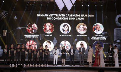 HLV Park Hang Seo và tuyển Việt Nam được vinh danh là nhân vật truyền cảm hứng của năm.