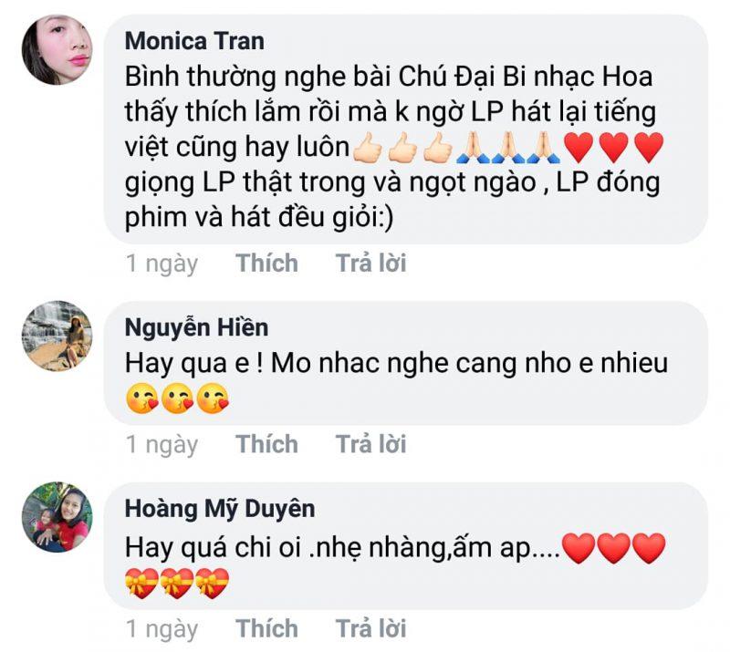 Bên cạnh những lời khen ngợi Lê Phương ở ca khúc mới, nhiều người cũng đồng tình rằng, 'Lê Phương dù đóng phim hay hát đều giỏi'