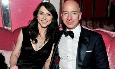 Ông Bezos tuyên bố ly dị người vợ đã sống với mình 25 năm.