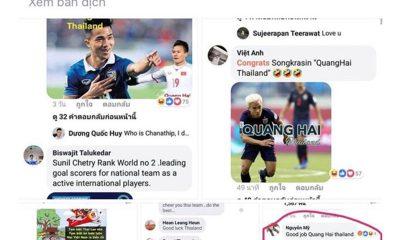 Báo Thái Lan cắt thông tin từ báo Việt Nam.