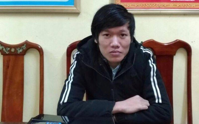Đối tượng Trần Kim Hùng.