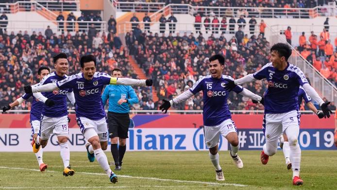 Hà Nội FC đã không thể duy trì được niềm vui đến khi trận đấu kết thúc