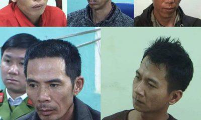 Tất cả 5 bị can liên quan đến vụ hiếp, giết nữ sinh đi giao gà chiều 30 Tết trên địa bàn tỉnh Điện Biên đều nghiện ma túy và có nhiều tiền án tiền sự.