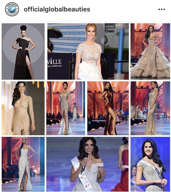 Top 10 Miss Grand Slam 2018 vừa được Global Beauties công bố tối 31/1.