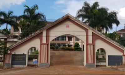 UBND huyện Tuy Đức - nơi ông Huân từng công tác.