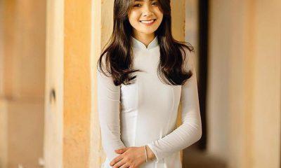 Bức hình diện áo dài trắng của Thu Giang nhận được vô số lời khen, phần lớn cho rằng cô mang những nét đẹp rất Việt Nam như mái tóc đen dài, gương mặt tròn, đôi mắt to, cằm chẻ, và đặc biệt là nụ cươi tươi thiện cảm.