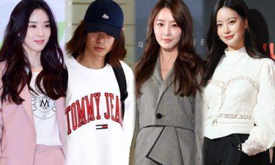 Một loạt mỹ nhân của làng giải trí xứ Hàn bị liên đới vì scandal của Jung Joon Young (người thứ 2 từ trái qua)