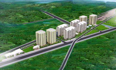 Phối cảnh dự án Khu chung cư nhà ở xã hội Khu công nghiệp Hòa Khánh
