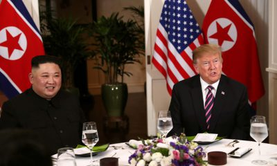 Ông Trump và ông Kim Jong Un ăn tối cùng nhau tối 27.2.