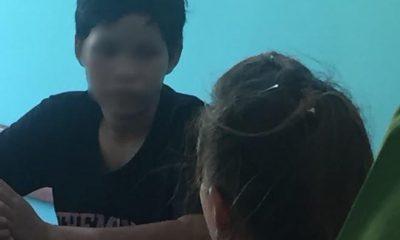 Thiếu nữ 16 tuổi khai nhận hành vi sát hại mẹ ruột. Ảnh: Minh Anh.