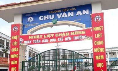 Trường Tiểu học Chu Văn An.
