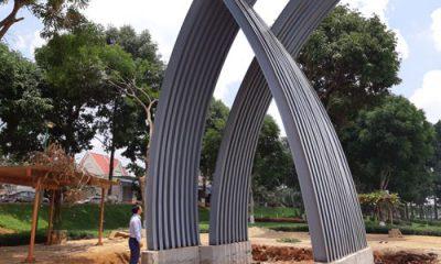 Mô hình biểu trưng của huyện Đắk Mil, tỉnh Đắk Nông bị phát hiện sao chép ý tưởng của một công trình tại TP HCM