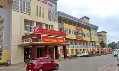 Bệnh viện đa khoa tỉnh Hà Tĩnh, nơi xảy ra sự việc.