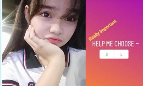 Davia đã tự tử sau khi những người theo dõi trên Instagram của cô chọn phương án 'Die'. Ảnh: Nbcnews.