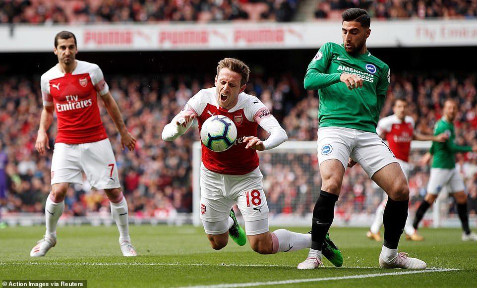 Arsenal 1-1 Brighton