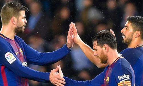 Barca kết thúc mùa giải không như mong muốn. Ảnh: Reuters.