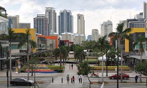 Bonifacio Global City, quận tài chính ở vùng đô thị Manila. Ảnh: BGC.