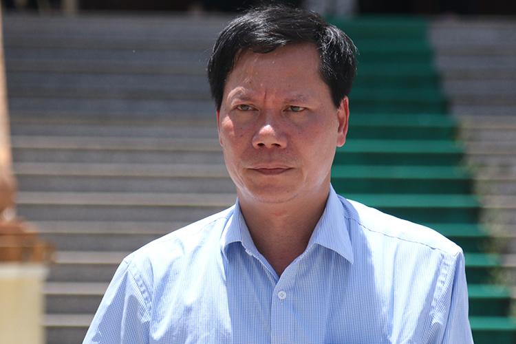 Cựu giám đốc bệnh viện Trương Quý Dương. Ảnh: Phạm Dự.