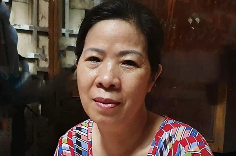 Bà Nguyễn Bích Quy. Ảnh chụp ngày 10/8: Văn Hòa.