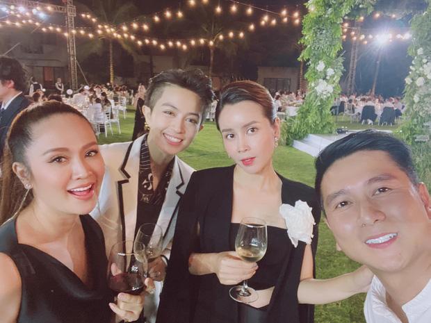 Những hình ảnh chung của Lưu Hương Giang và Hồ Hoài Anh tại đám cưới Đông Nhi - Ông Cao Thắng.