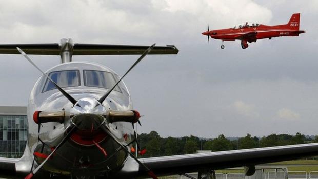 Một chiếc máy bay Pilatus PC-12. Ảnh: NBC News