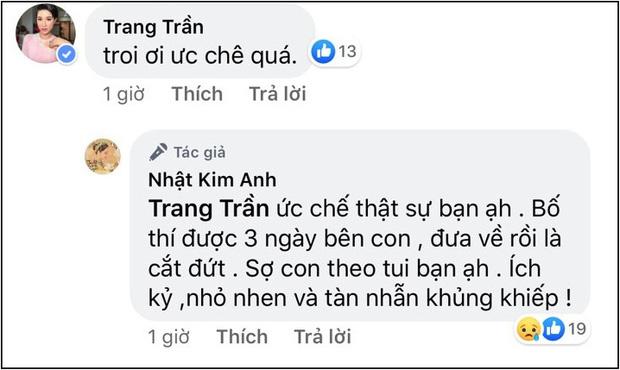 Vừa được gặp con trai sau nhiều ngày xa cách, Nhật Kim Anh lại tung tin nhắn tố chồng cũ cản trở chuyện thăm bé dịp Tết - Ảnh 2.