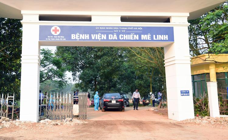 Hà Nội cải tạo bệnh viện dã chiến trong 10 ngày
