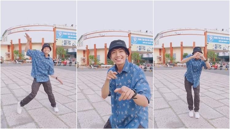 Đoạn video Quang Đăng nhảy vũ điệu mới trên Tik Tok được nhiều bạn trẻ yêu thích, trở thành niềm cảm hứng cho các video cover dance tiếp theo.