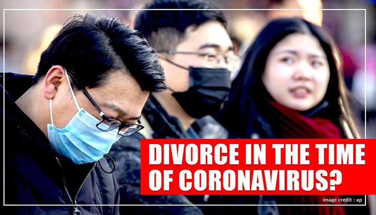 Hiện tượng số vụ ly hôn tăng vọt sau đại dịch khiến các chuyên gia đặt câu hỏi: Phải chăng nguyên nhân là vì Covid-19?. Ảnh: AP.