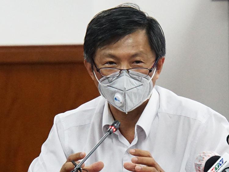 Bác sĩ Nguyễn Trí Dũng, Giám đốc Trung tâm Kiểm soát bệnh tật TP HCM. Ảnh: Mạnh Tùng