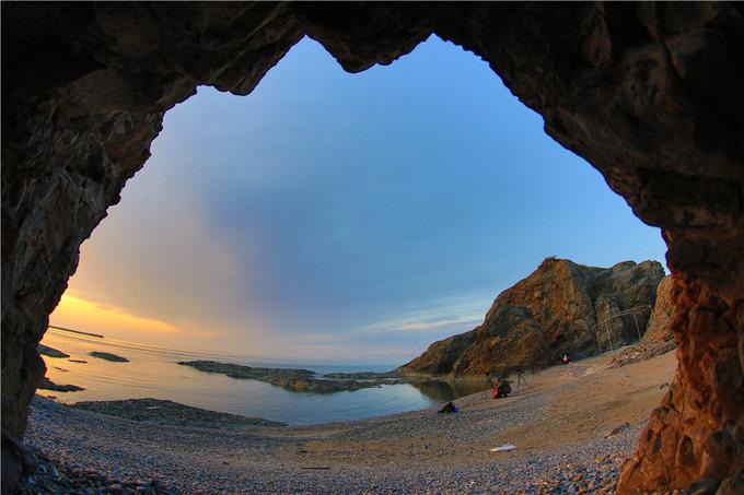 Bãi biển phát sáng ở Trung Quốc
