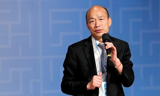 Ông Hàn Quốc Du, thị trưởng thành phố Cao Hùng, Đài Loan. Ảnh: Ejinsight.