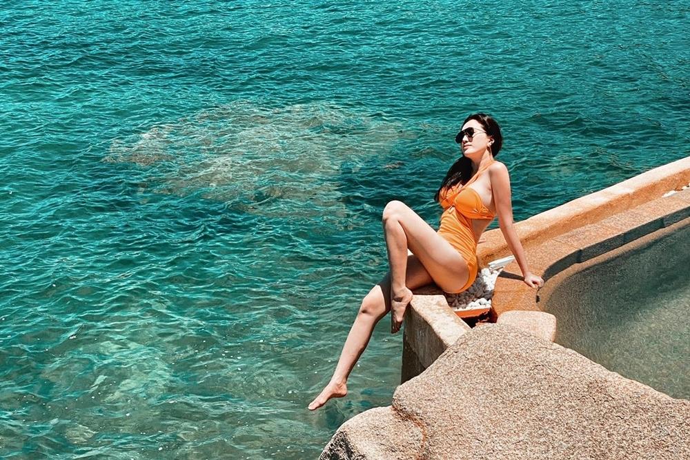 Hiện tại do còn ảnh hưởng của Covid-19, Bảo Thy quyết định du lịch trong nước. Thời gian tới, cô muốn trở lại Maldive - nơi ông xã từng cầu hôn.
