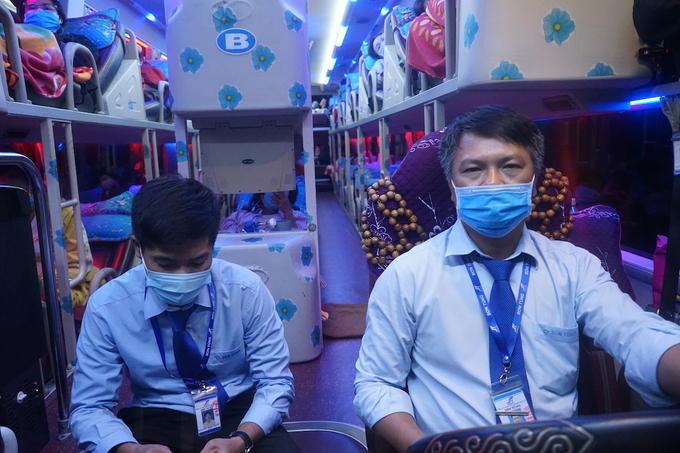 Chuyến xe cuối rời Đà Nẵng lúc 23h30. Ảnh: Gia Chính