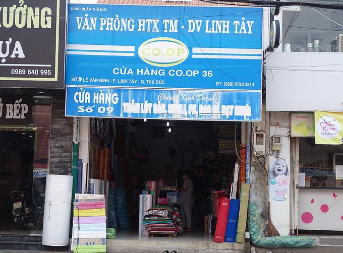 Nơi được cho là văn phòng của HTX Thương mại, dịch vụ Linh Tây. Ảnh: Hà An.