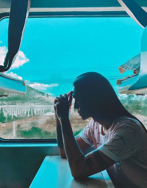[Caption]   Đã xác minh Lần đầu được trải nghiệm xe lửa, thú vị và êm ái lắm nha