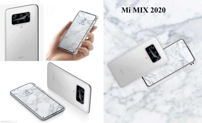 Xiaomi Mi MIX 2020 lộ diện với thiết kế độc lạ - Ảnh 1.