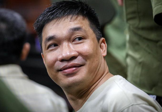 Văn Kính Dương tại TAND TP HCM chiều 14/5/2019. Ảnh: Thành Nguyễn.