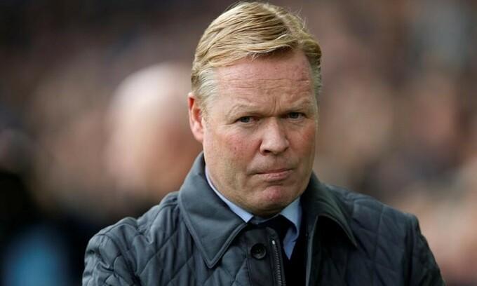 Koeman phải hủy ngang hợp đồng với Hà Lan để dẫn dắt Barca. Ảnh: Reuters.