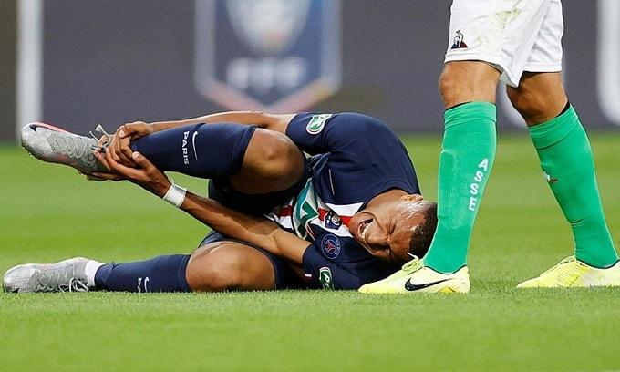 PSG rất cần Mbappe cho trận tứ kết Champions League vào ngày 12/8. Ảnh: Reuters.