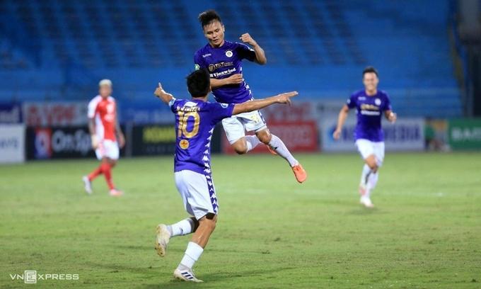 Quang Hải đang có phong độ cao với ba bàn thắng và bốn kiến tạo trong hai trận gần nhất.