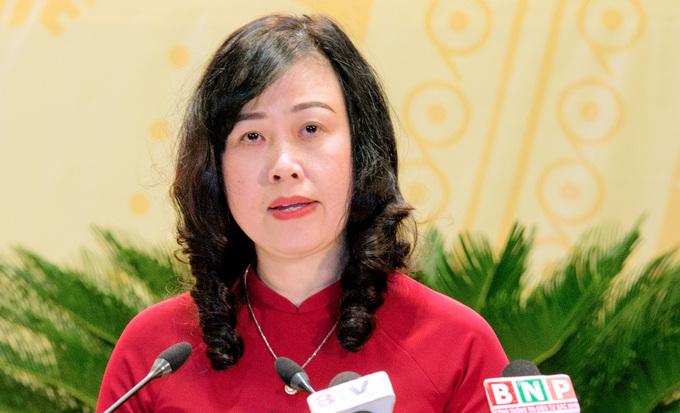 Bà Đào Hồng Lan, tân Bí thư tỉnh uỷ Bắc Ninh. Ảnh: Kinh Bắc