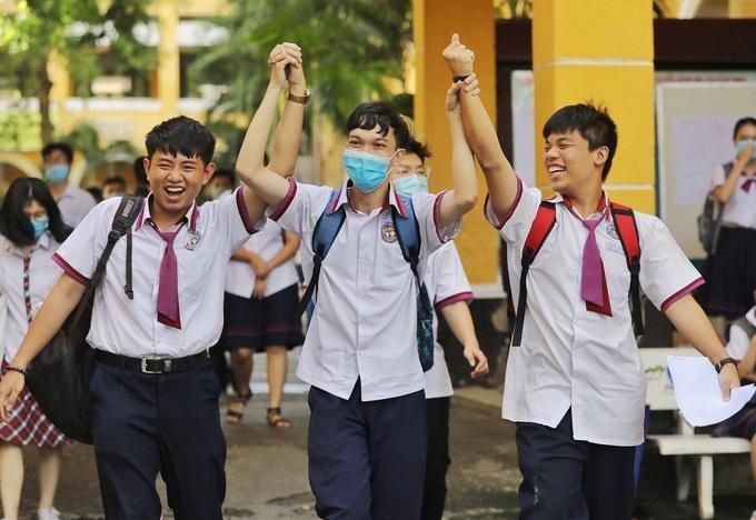 Thí sinh dự thi tốt nghiệp THPT 2020. Ảnh: Quỳnh Trần