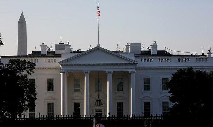 Nhà Trắng ở thủ đô Washington ngày 7/10. Ảnh: Reuters.